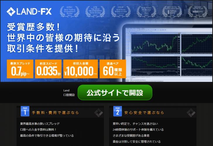 海外FX,口コミ,評判,ランドFX